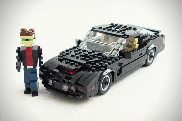 Knight Rider LEGO car