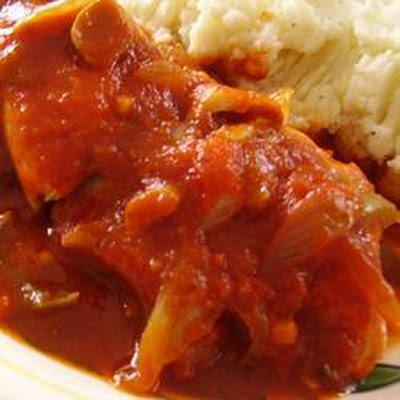 Chicken Cacciatore In The Slow Cooker