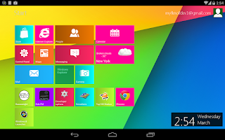 Screenshot of Metro UI Launcher 8.1