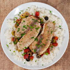 Pan-Seared Tilapia With Veracruz Sauce