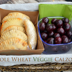 Whole Wheat Veggie Calzones