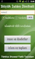 Screenshot of Büyük İslam İlmihali