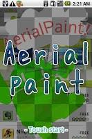 Screenshot of Aerial paint