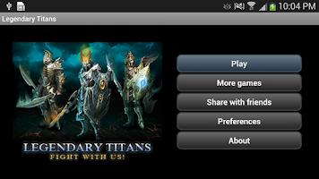 Screenshot of Clash of Legendary Titans