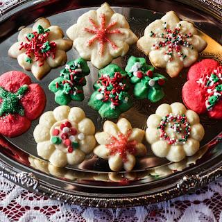 Spritz Cookies No Eggs Recipes