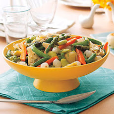 Spring Vegetables with Lemon and Tarragon