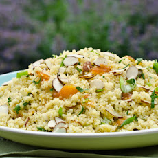 Warm Couscous Salad with Apricot Vinaigrette