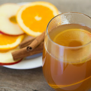 Hot Apple Cider Rum Punch