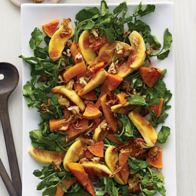 Roasted Squash, Apple, and Cipollini Onion Salad