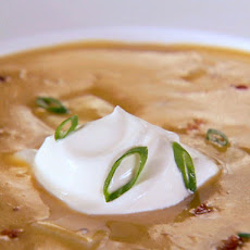 Cheddar Cheese Baked Potato Soup