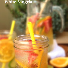 Tequila Spiked White Sangria