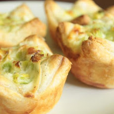 Mini Leek Tarts