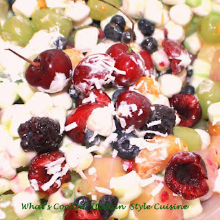 Fresh Fruit Marshmallow Salad