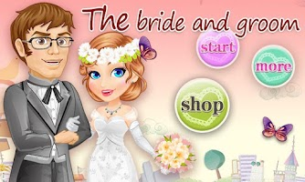 Screenshot of Dress Up - Bride and Groom