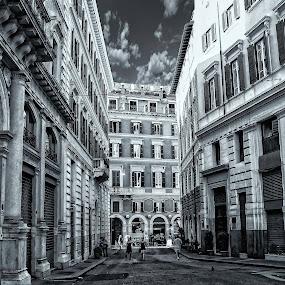 La Strada by Lino Chetcuti - City,  Street & Park  Historic Districts