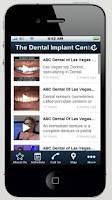 Screenshot of The Dental Implant Center