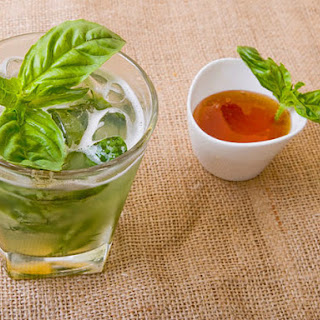 Honey-Basil Lemonade