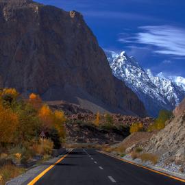KKH by Asmar Hussain - Landscapes Mountains & Hills