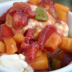 Fruity Ice Cream Salsa