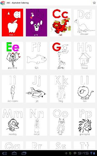 【免費教育App】Kid Coloring - Abc, Number-APP點子