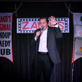 Larry Reeb... Comedian by Greg G-man - People Musicians & Entertainers ( comedy )