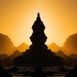 Happy New Year by Ian Montgomery - Landscapes Caves & Formations