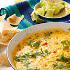 Spicy Cilantro Queso