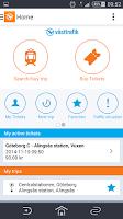 Screenshot of Travel planner