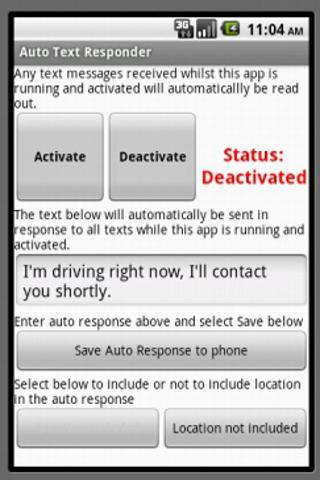 Auto Text Responder Ad Free
