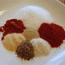 Cajun Spice Seasoning Mix in a Jar