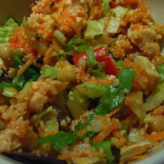 Couscous With Zucchini & Tomato