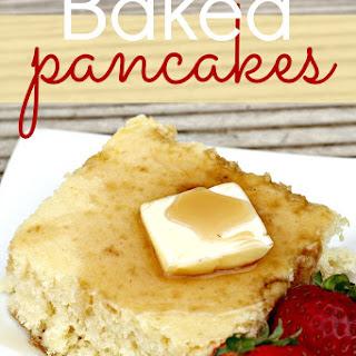 Baked Pancakes Recipes