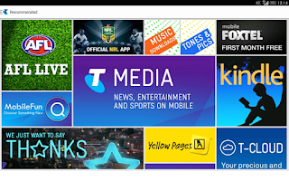 Screenshot of Telstra
