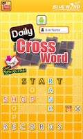 Screenshot of DailyCrossword