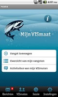 Screenshot of MijnVISmaat