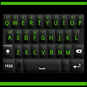 Black and Green Keyboard Skin icon
