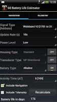 Screenshot of 6G Battery Life Estimator