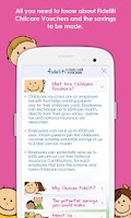 Screenshot of Fideliti Childcare Vouchers