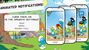 Screenshot of The Smurfs' New Live Wallpaper