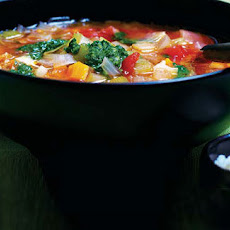 Minestrone With Salsa Verde