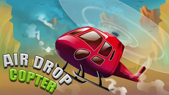 Air Drop Copter: Heli Delivery - screenshot