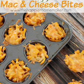 Hidden Veggie Mac and Cheese Bites