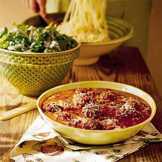 Pasta Sauce with Meatballs