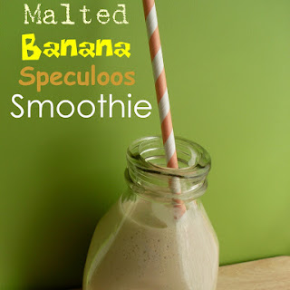 Malted Banana Speculoos Smoothie
