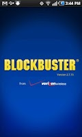 Screenshot of Blockbuster 2.7 for HTC