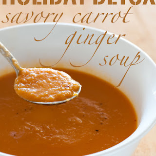Savory Carrot Ginger Soup
