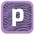 Purple Zebra Keyboard Skin icon