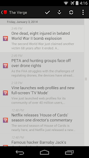 Press (RSS Reader) Screenshot