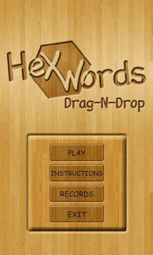 Hex Words: Drag-n-Drop