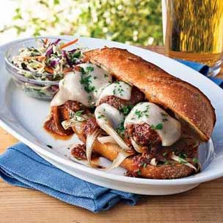 Grilled Meatball Subs